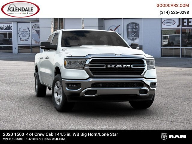 2020 Ram 1500 Crew Cab 4x4,  Pickup #4L1061 - photo 12