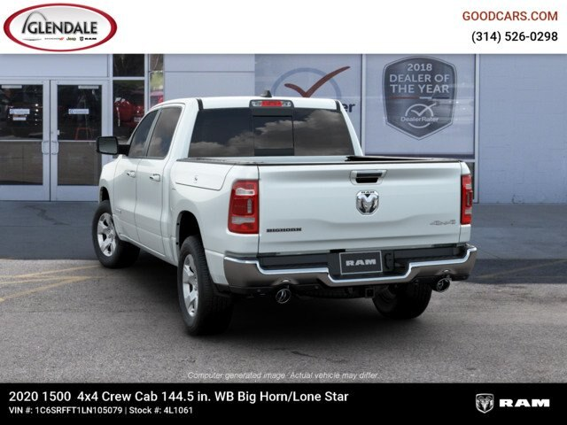 2020 Ram 1500 Crew Cab 4x4,  Pickup #4L1061 - photo 6