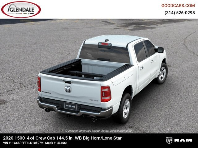 2020 Ram 1500 Crew Cab 4x4,  Pickup #4L1061 - photo 8