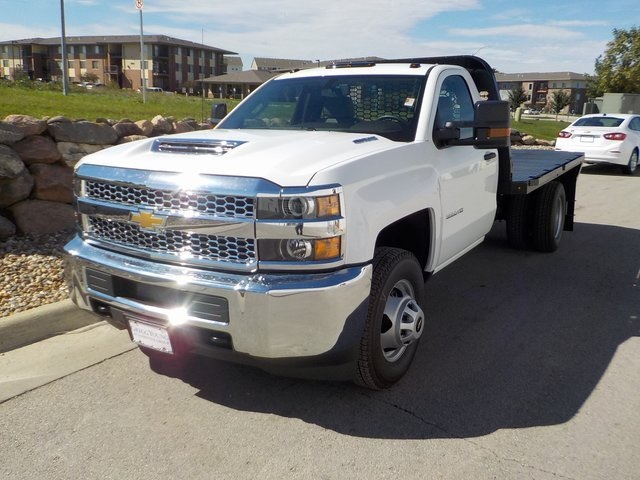 2019 Silverado 3500 Regular Cab DRW 4x4,  Knapheide Platform Body #D5231 - photo 7