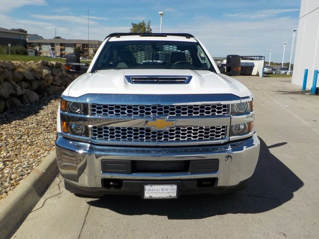 2019 Silverado 3500 Regular Cab DRW 4x4,  Knapheide Platform Body #D5231 - photo 8
