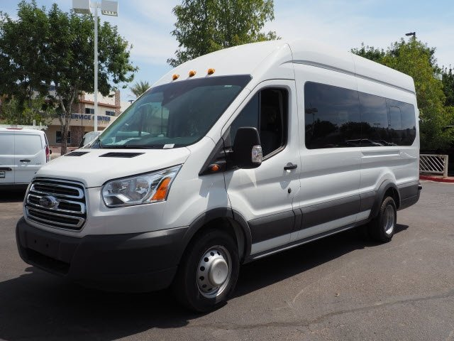 2017 Transit 350 HD High Roof DRW 4x2,  Passenger Wagon #173798 - photo 8