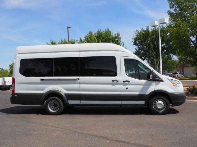 2017 Transit 350 HD High Roof DRW 4x2,  Passenger Wagon #173799 - photo 4