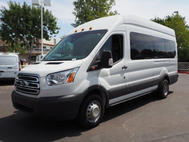 2017 Transit 350 HD High Roof DRW 4x2,  Passenger Wagon #173799 - photo 8