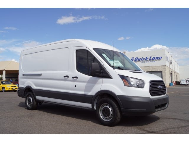 2018 Transit 250 Med Roof 4x2,  Empty Cargo Van #183103 - photo 3