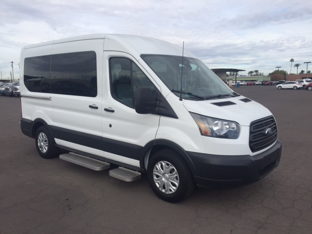2019 Ford Transit 350 Med Roof 4x2, Wheel Chair Lift-Long #191820 - photo 1