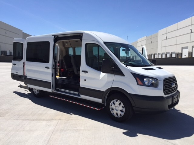 2019 Transit 350 Med Roof 4x2, Wheel Chair Lift-Long #192417 - photo 3