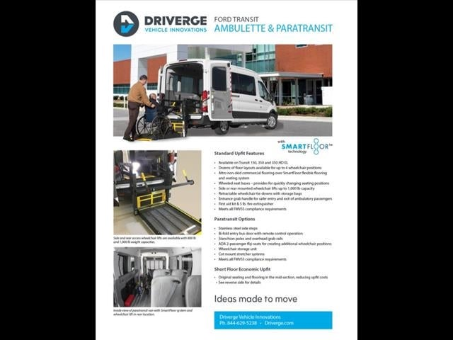 2019 Transit 350 Med Roof 4x2, Wheel Chair Lift-Long #192417 - photo 9
