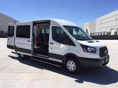 2019 Transit 350 Med Roof 4x2, Wheel Chair Lift-Long #192417 - photo 10