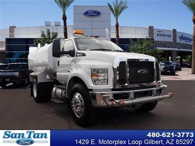 2019 Ford F-750, 2,000 Gallon Water Tank