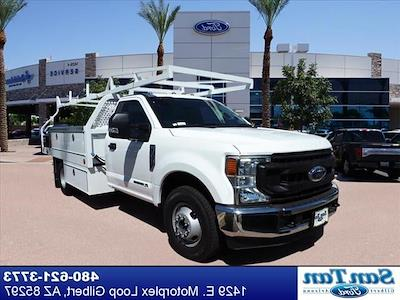 2020 Ford F-350, 12' Royal Contractors Body