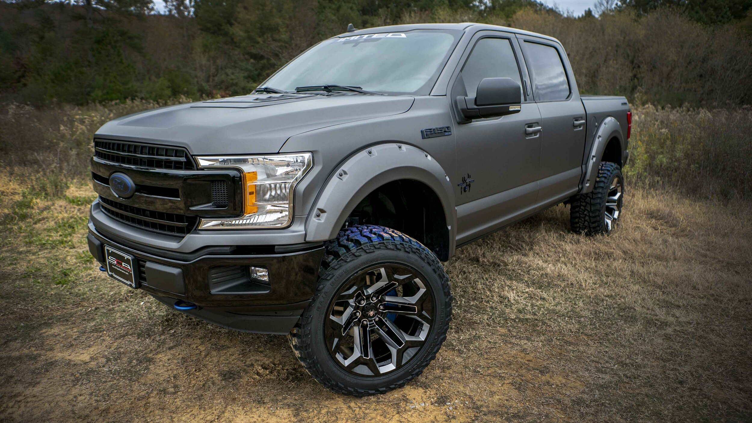 2020 Ford F-150 SuperCrew Cab 4x4, 40th Anniversary Special Edition SCA Black Widow  #200764 - photo 1