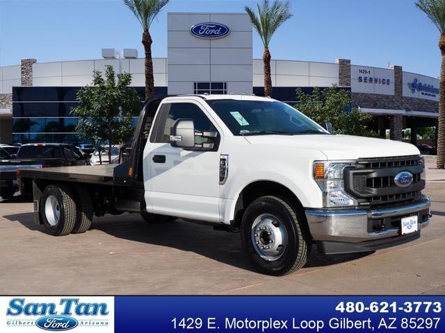 2020 Ford F-350 Regular Cab DRW 4x2, CM Truck Beds Platform Body #200847 - photo 1