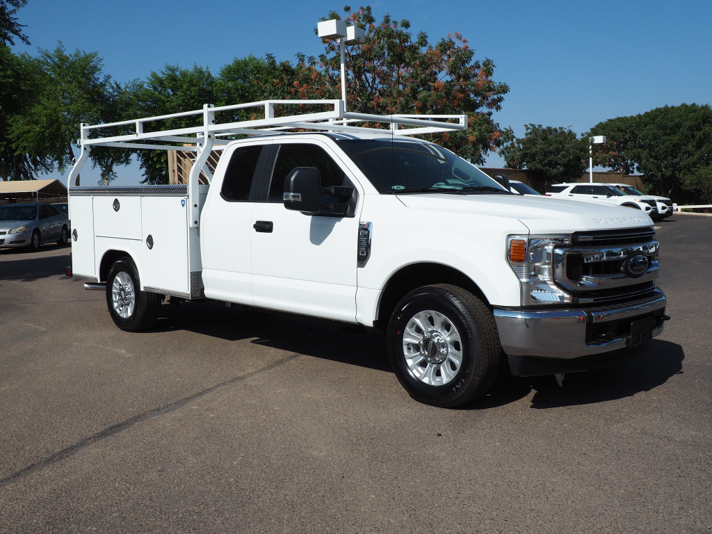 2020 Ford F-250 Super Cab 4x2, 8' Royal Service Body with a Ladder Rack #202656 - photo 1