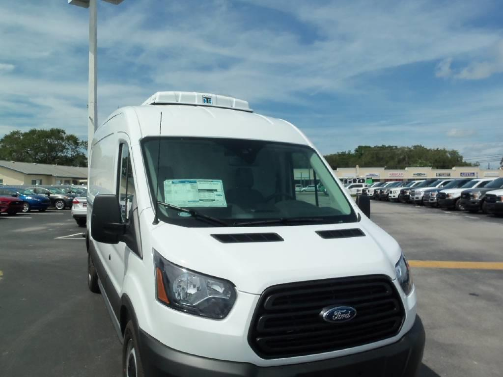 2020 Ford Transit 250 Med Roof RWD, Transit Mid Roof Van with Thermo King V-520-20 Reefer with Electric Stand Bye and Insulation Package #203087 - photo 1