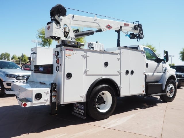 2021 Ford F-750 Regular Cab DRW RWD, IMT Dominator II, 11' Crane Body with 10,000 pound crane and 25' boom #210001 - photo 1