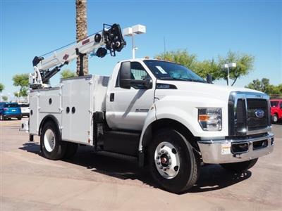 2021 Ford F-750, IMT Dominator II, 11' Crane Body with 10,000 pound crane and 25' boom