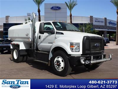 2022 Ford F-750, 2,000 Gallon Water Tank with 2 Speed Rear Axle