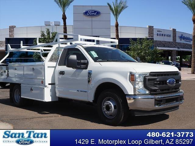 2021 Ford F-350 Regular Cab DRW 4x2, Royal Truck Body Contractor Body #210203 - photo 1