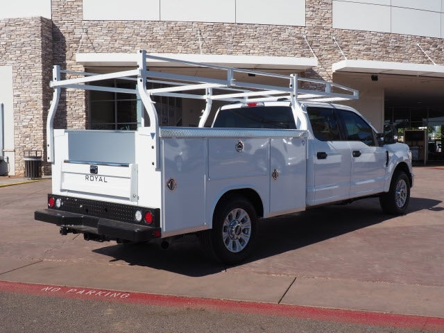 2021 Ford F-250 Crew Cab 4x2, 8' Royal Service Body with a Ladder Rack #210222 - photo 1