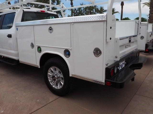 2021 Ford F-350 Crew Cab 4x4, 8' Royal Service Body with a Ladder Rack #211294 - photo 1