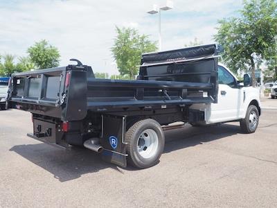 2021 F-350 Regular Cab DRW 4x2, 12' Rugby Dump Body #211935 - photo 2