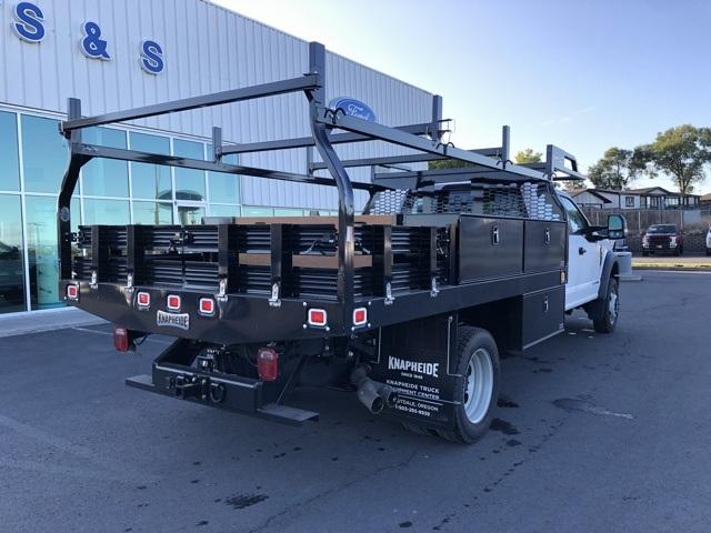 2019 Ford F-550 Crew Cab DRW 4x4,  Knapheide Contractor Body #72283 - photo 1