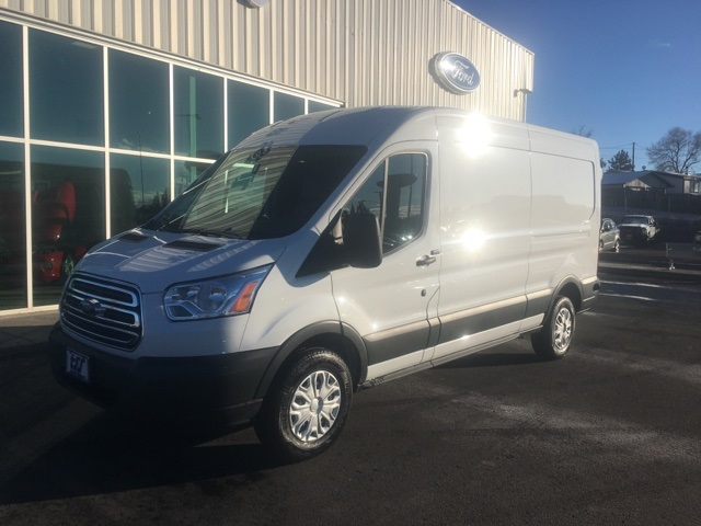 2018 Transit 350 Med Roof 4x2,  Empty Cargo Van #F71820 - photo 3
