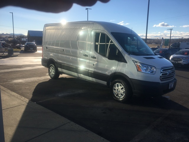 2018 Transit 350 Med Roof 4x2,  Empty Cargo Van #F71820 - photo 5
