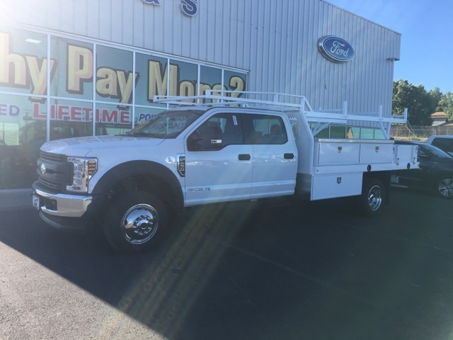 2018 F-450 Crew Cab DRW 4x4,  Harbor Contractor Body #F71825 - photo 3