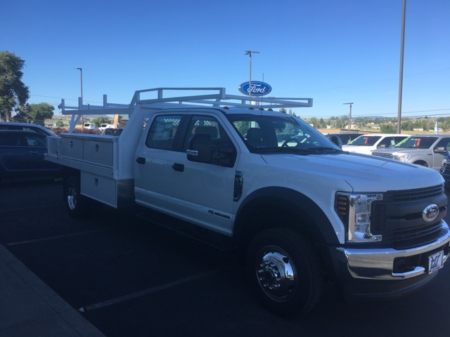 2018 F-450 Crew Cab DRW 4x4,  Harbor Contractor Body #F71825 - photo 5