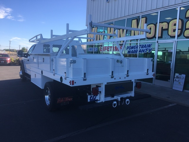 2018 F-450 Crew Cab DRW 4x4,  Harbor Contractor Body #F71825 - photo 2