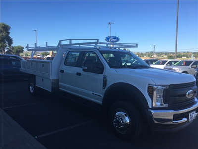 2018 F-450 Crew Cab DRW 4x4,  Contractor Body #F71825 - photo 5