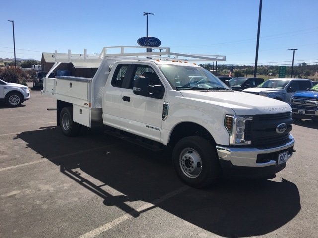 2018 F-350 Super Cab DRW 4x4,  Harbor Contractor Body #F71846 - photo 5