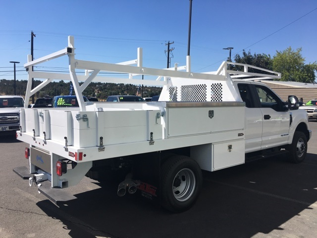 2018 F-350 Super Cab DRW 4x4,  Harbor Contractor Body #F71846 - photo 2