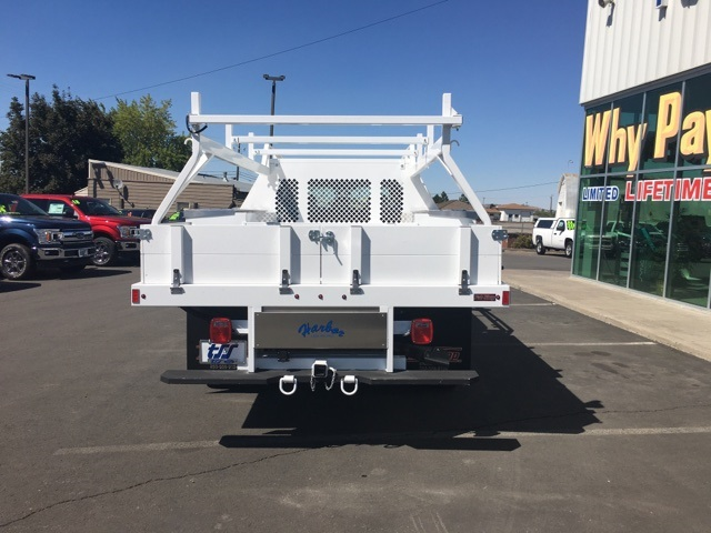 2018 F-350 Super Cab DRW 4x4,  Harbor Contractor Body #F71846 - photo 6