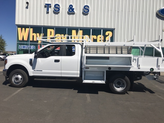 2018 F-350 Super Cab DRW 4x4,  Harbor Contractor Body #F71846 - photo 7
