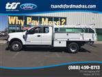 2018 F-350 Super Cab DRW 4x4,  Harbor Contractor Body #F71846 - photo 1
