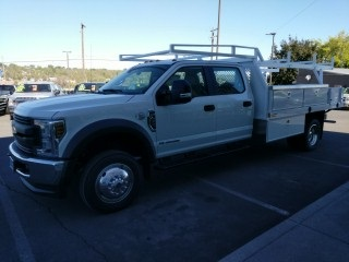 2018 F-450 Crew Cab DRW 4x4,  Harbor Contractor Body #F71847 - photo 5
