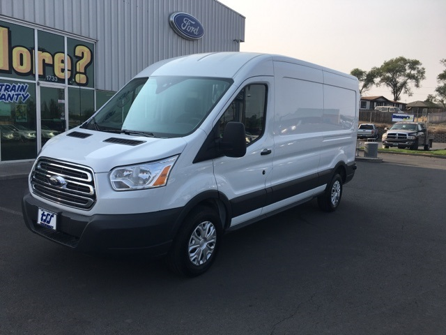 2018 Transit 250 Med Roof 4x2,  Sortimo Upfitted Cargo Van #F71870 - photo 3