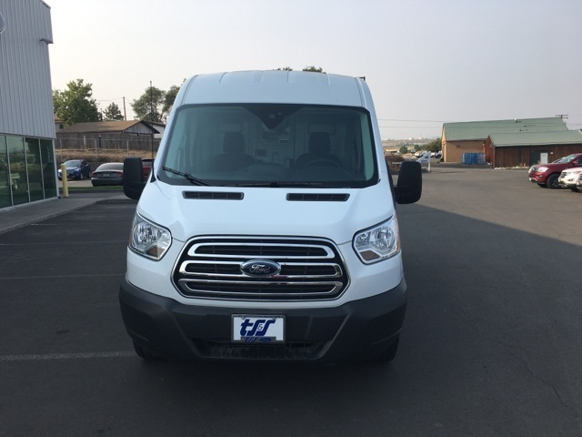 2018 Transit 250 Med Roof 4x2,  Sortimo Upfitted Cargo Van #F71870 - photo 4