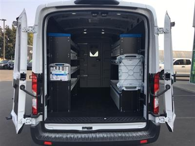 2018 Transit 250 Med Roof 4x2,  Sortimo ProPaxx General Service Upfitted Cargo Van #F71870 - photo 2