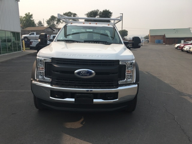 2018 F-550 Regular Cab DRW 4x4,  Harbor Contractor Body #F71882 - photo 4