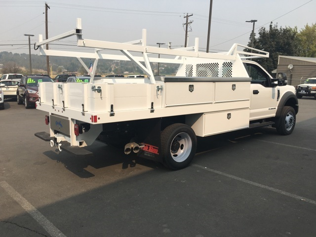 2018 F-550 Regular Cab DRW 4x4,  Harbor Contractor Body #F71882 - photo 2