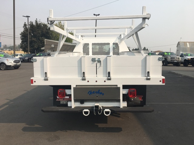 2018 F-550 Regular Cab DRW 4x4,  Harbor Contractor Body #F71882 - photo 7
