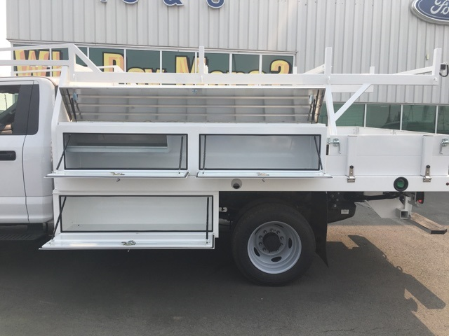 2018 F-550 Regular Cab DRW 4x4,  Harbor Contractor Body #F71882 - photo 8