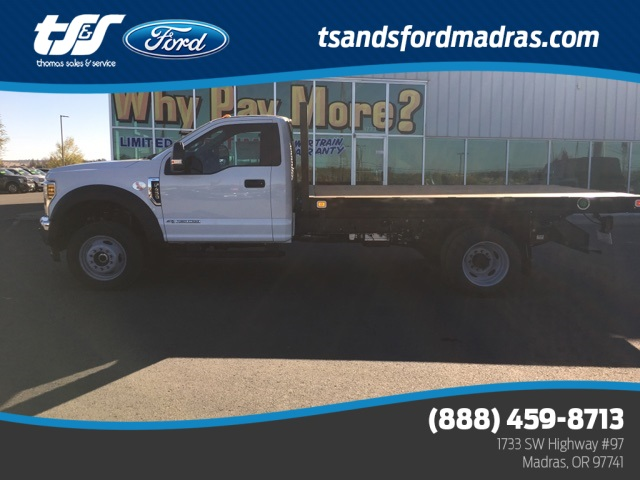 2019 F-450 Regular Cab DRW 4x4,  Knapheide Value-Master X Platform Body #F71905 - photo 1