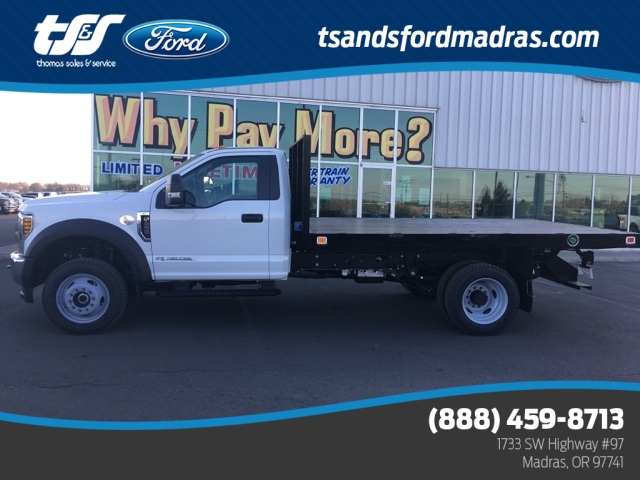 2019 F-450 Regular Cab DRW 4x4,  Knapheide Value-Master X Platform Body #F71932 - photo 1