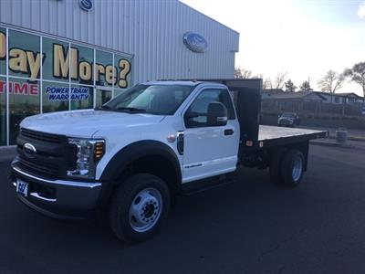 2019 F-450 Regular Cab DRW 4x4,  Knapheide Value-Master X Platform Body #F71932 - photo 3