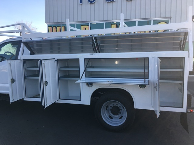 2018 F-550 Regular Cab DRW 4x4,  Harbor Service Body #F71956 - photo 11